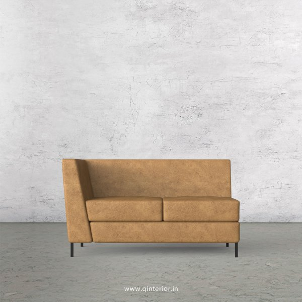 Gloria 2 Seater Modular Sofa in Fab Leather Fabric - MSFA002 FL02