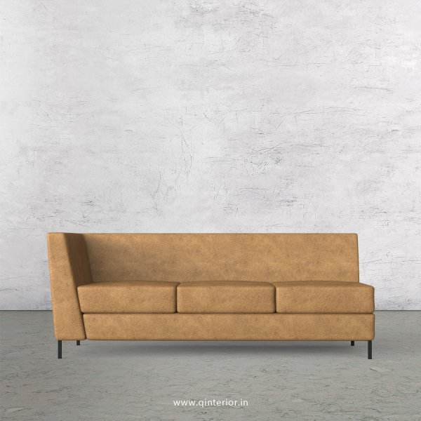 Gloria 3 Seater Modular Sofa in Fab Leather Fabric - MSFA003 FL02