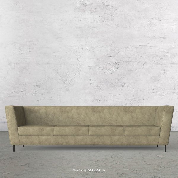 GLORIA 4 Seater Sofa in Fab Leather Fabric - SFA018 FL03