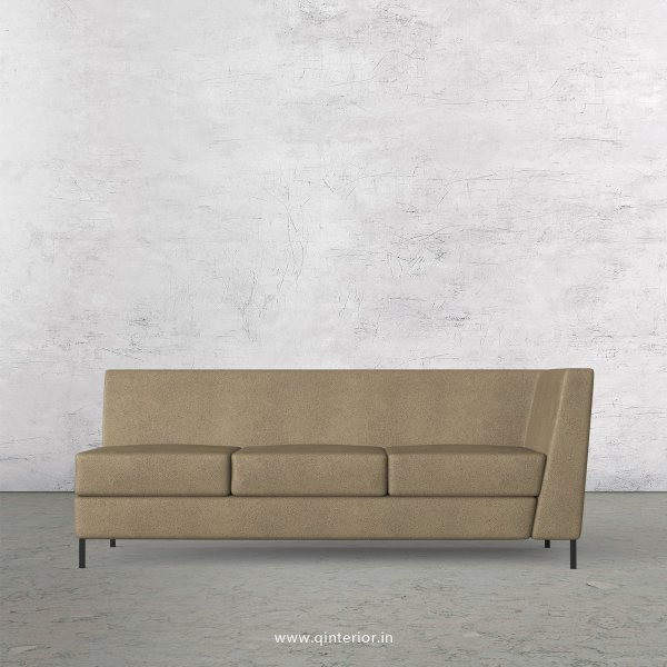 Gloria 3 Seater Modular Sofa in Fab Leather Fabric - MSFA006 FL06