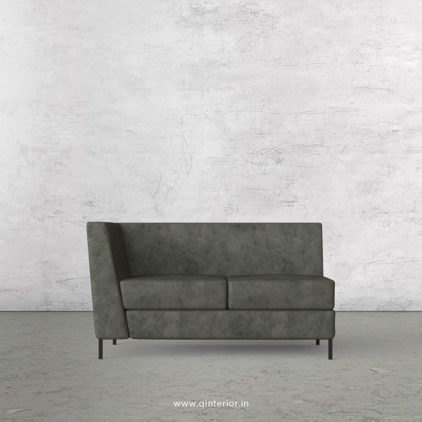 Gloria 2 Seater Modular Sofa in Fab Leather Fabric - MSFA002 FL07