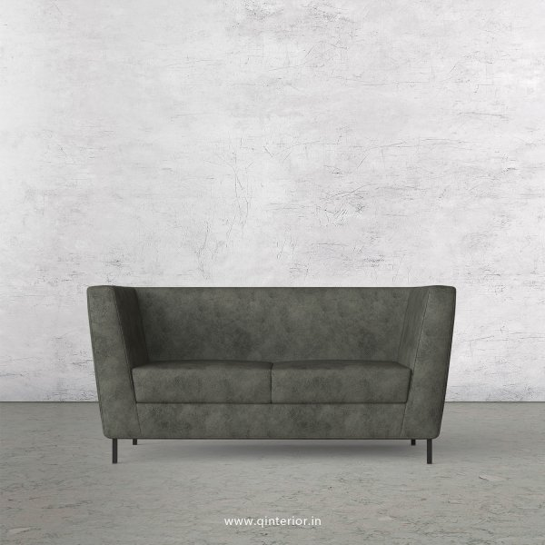 GLORIA 2 Seater Sofa in Fab Leather Fabric - SFA018 FL07