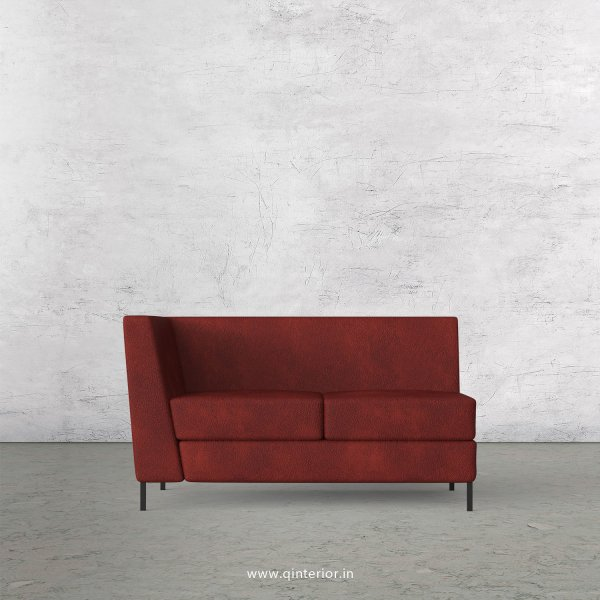 Gloria 2 Seater Modular Sofa in Fab Leather Fabric - MSFA002 FL08