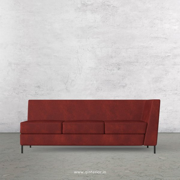 Gloria 3 Seater Modular Sofa in Fab Leather Fabric - MSFA006 FL08