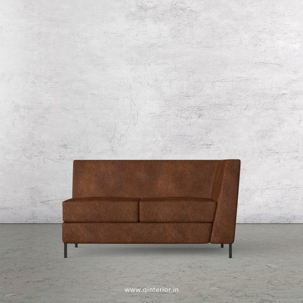 Gloria 2 Seater Modular Sofa in Fab Leather Fabric - MSFA005 FL09