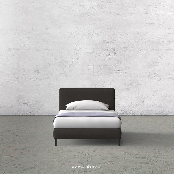 NIRVANA Single Bed in Fab Leather – SBD003 FL15