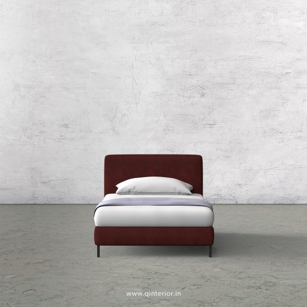 NIRVANA Single Bed in Fab Leather – SBD003 FL17