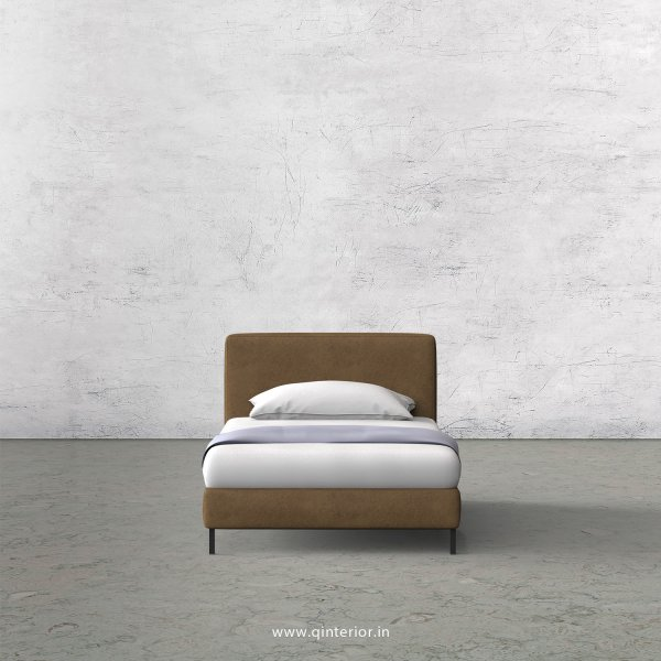 NIRVANA Single Bed in Fab Leather – SBD003 FL02