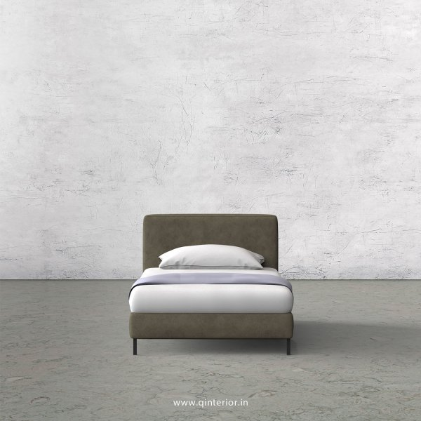 NIRVANA Single Bed in Fab Leather – SBD003 FL03