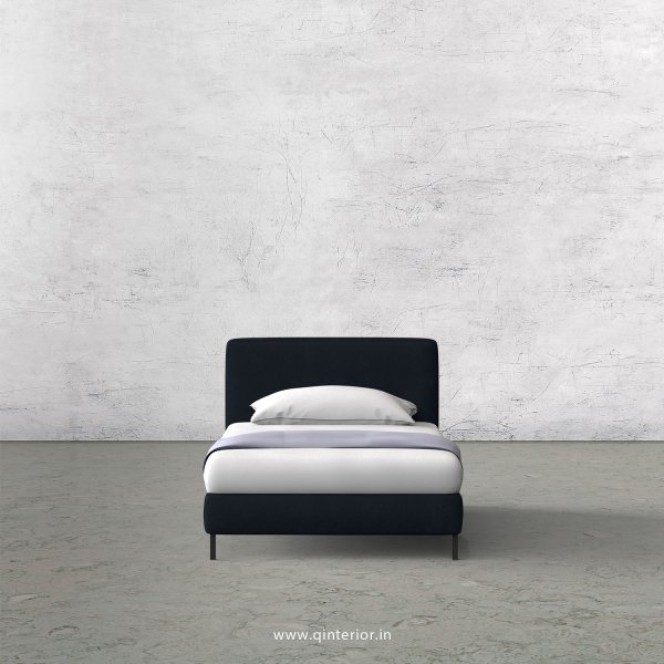 NIRVANA Single Bed in Fab Leather – SBD003 FL05
