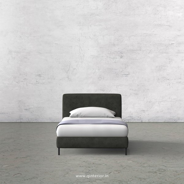 NIRVANA Single Bed in Fab Leather – SBD003 FL07