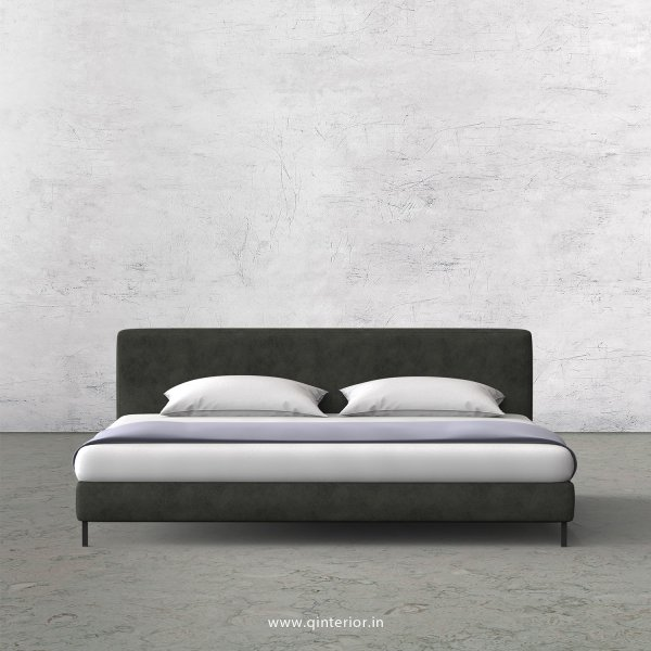 Nirvana Queen Sized Bed with Fab Leather Fabric - QBD003 FL07