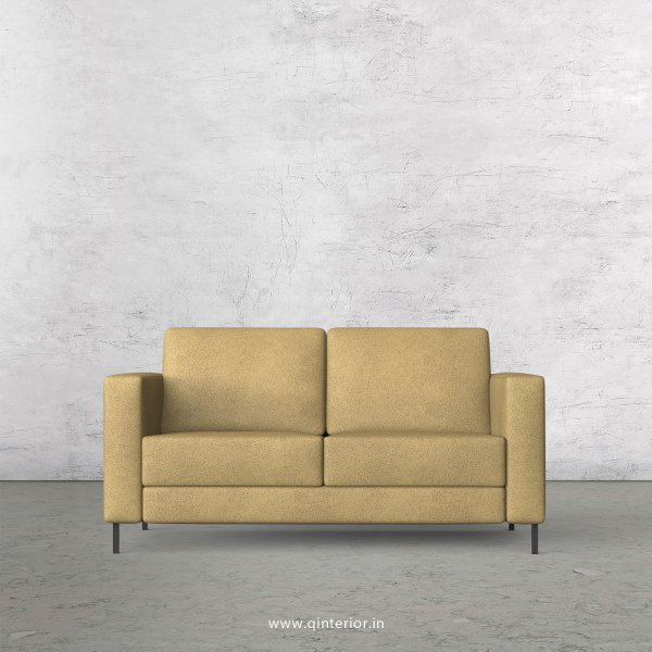NIRVANA 2 Seater Sofa in Fab Leather Fabric - SFA016 FL01