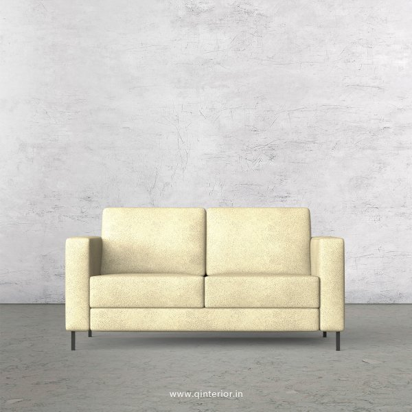 NIRVANA 2 Seater Sofa in Fab Leather Fabric - SFA016 FL10