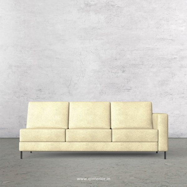 Nirvana 3 Seater Modular Sofa in Fab Leather Fabric - MSFA007 FL10