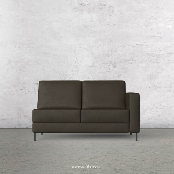 Nirvana 2 Seater Modular Sofa in Fab Leather Fabric - MSFA006 FL11