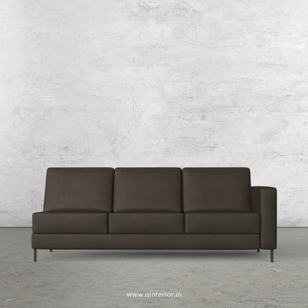 Nirvana 3 Seater Modular Sofa in Fab Leather Fabric - MSFA007 FL11
