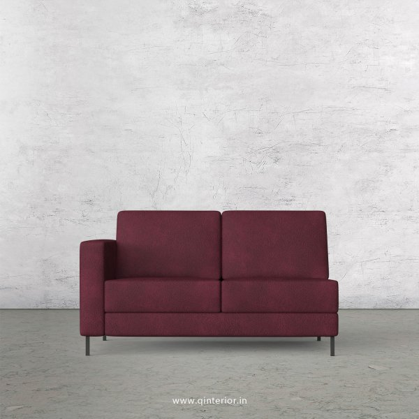 Nirvana 1 Seater Modular Sofa in Fab Leather Fabric - MSFA001 FL12