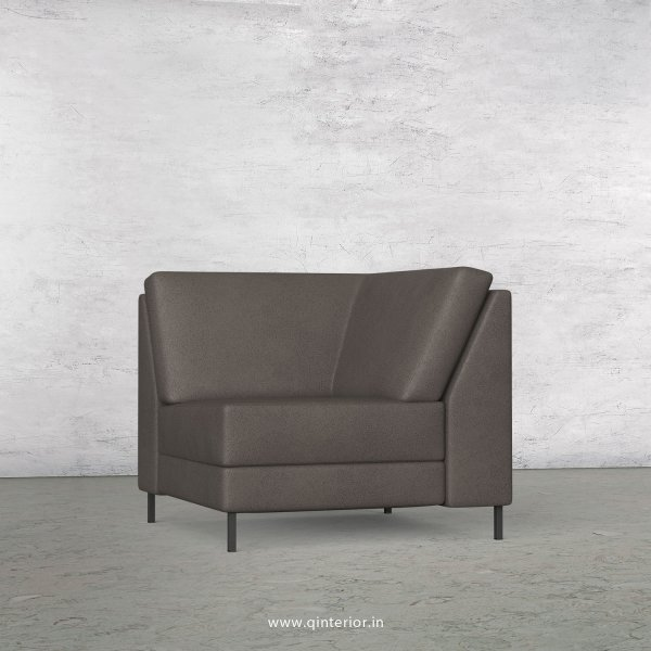 Nirvana Corner Seater Modular Sofa in Fab Leather Fabric - MSFA004 FL15