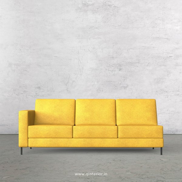 Nirvana 3 Seater Modular Sofa in Fab Leather Fabric - MSFA003 FL18