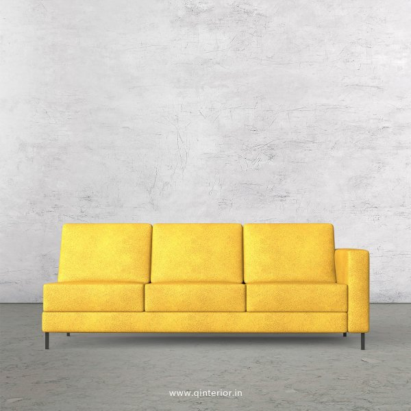 Nirvana 3 Seater Modular Sofa in Fab Leather Fabric - MSFA007 FL18