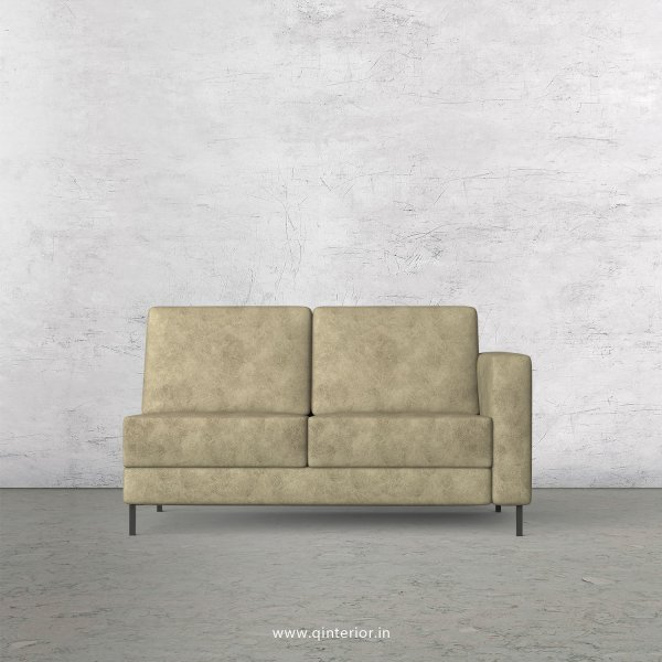 Nirvana 2 Seater Modular Sofa in Fab Leather Fabric - MSFA006 FL03
