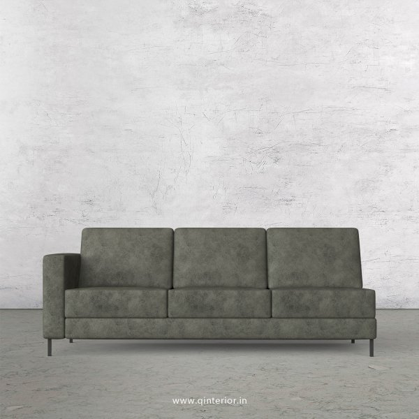 Nirvana 3 Seater Modular Sofa in Fab Leather Fabric - MSFA003 FL07