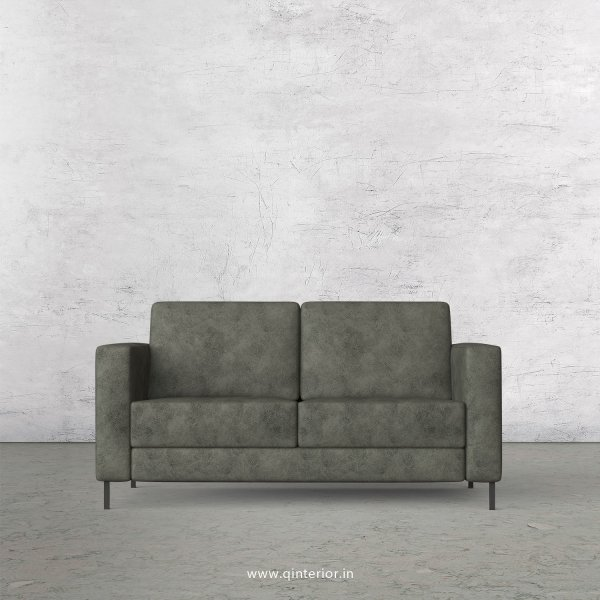 NIRVANA 2 Seater Sofa in Fab Leather Fabric - SFA016 FL07