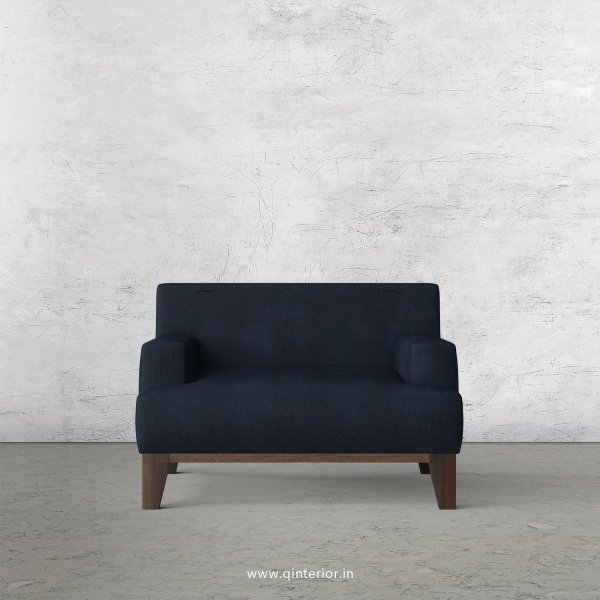 QUADRO 1 Seater Sofa in Fab Leather Fabric - SFA010 FL05