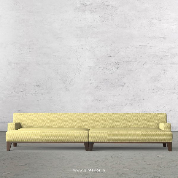 QUADRO 4 Seater Sofa in Jacquard Fabric - SFA010 JQ06