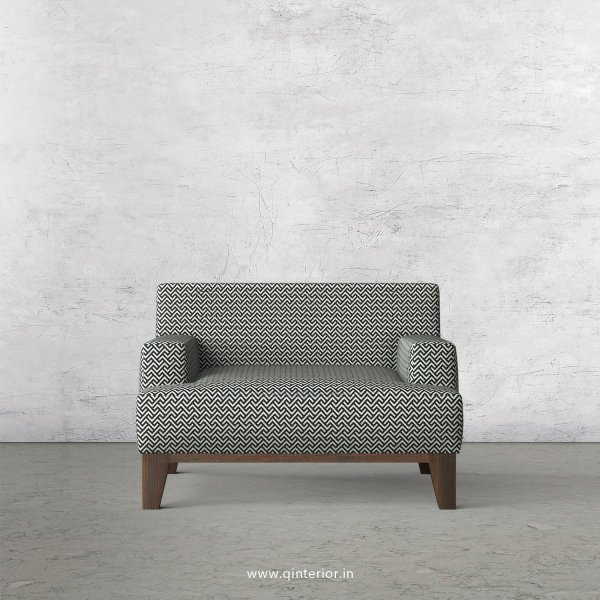 QUADRO 1 Seater Sofa in Jacquard Fabric - SFA010 JQ12