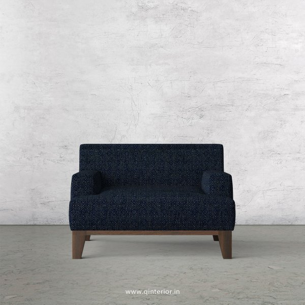 QUADRO 1 Seater Sofa in Jacquard Fabric - SFA010 JQ20