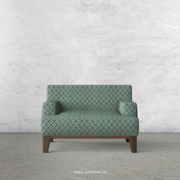 QUADRO 1 Seater Sofa in Jacquard Fabric - SFA010 JQ26