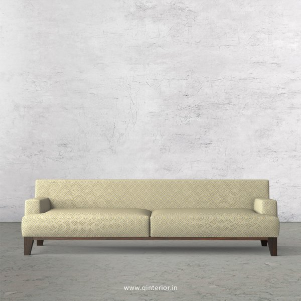 QUADRO 3 Seater Sofa in Jacquard Fabric - SFA010 JQ29