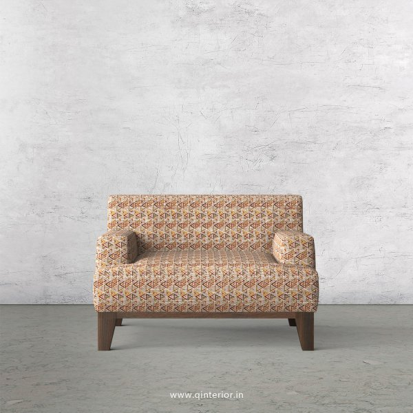 QUADRO 1 Seater Sofa in Jacquard Fabric - SFA010 JQ32