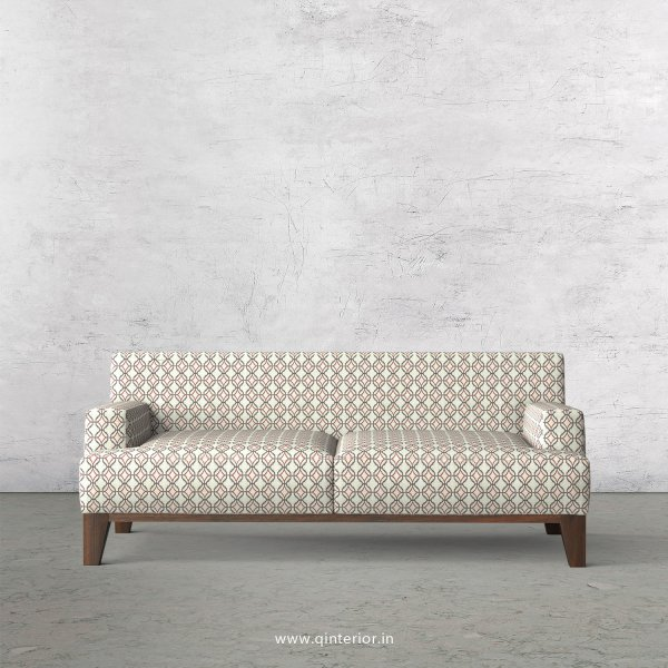 QUADRO 2 Seater Sofa in Jacquard Fabric - SFA010 JQ34