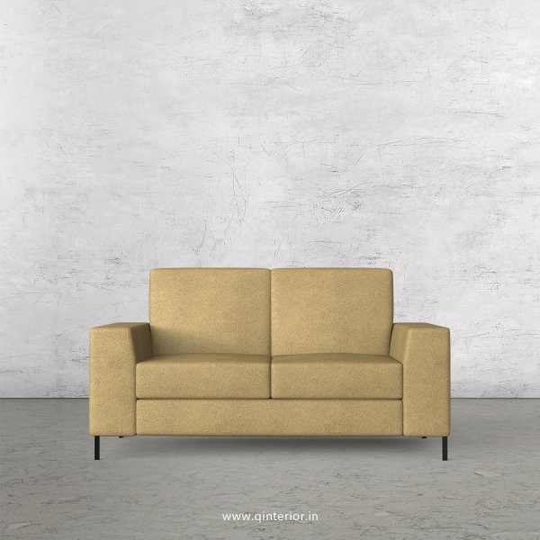 Viva 2 Seater Sofa in Fab Leather Fabric - SFA015 FL01