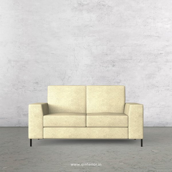 Viva 2 Seater Sofa in Fab Leather Fabric - SFA015 FL10