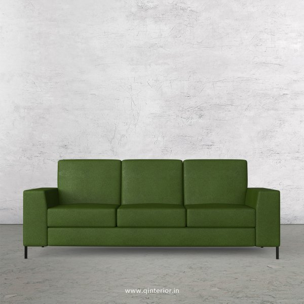 Viva 3 Seater Sofa in Fab Leather Fabric - SFA015 FL04