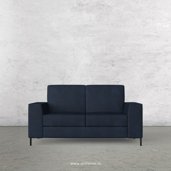 Viva 2 Seater Sofa in Fab Leather Fabric - SFA015 FL05