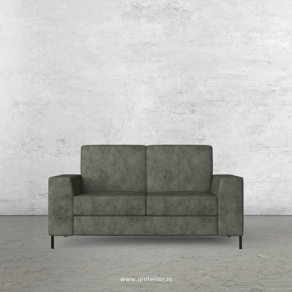 Viva 2 Seater Sofa in Fab Leather Fabric - SFA015 FL07