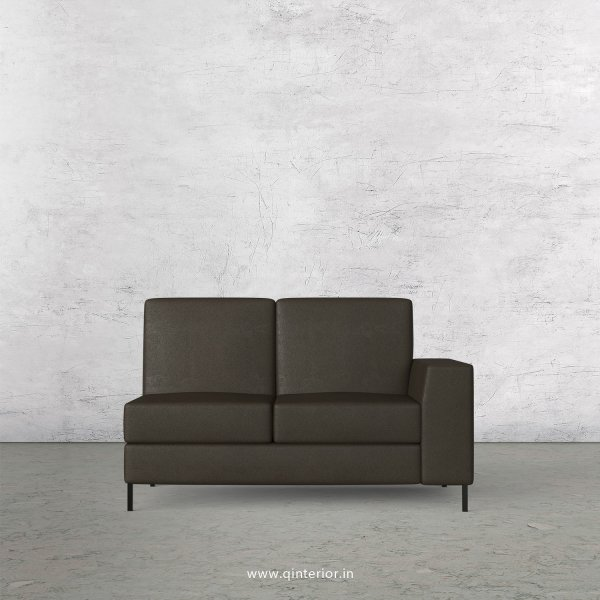 Viva 2 Seater Modular Sofa in Fab Leather Fabric - MSFA006 FL11