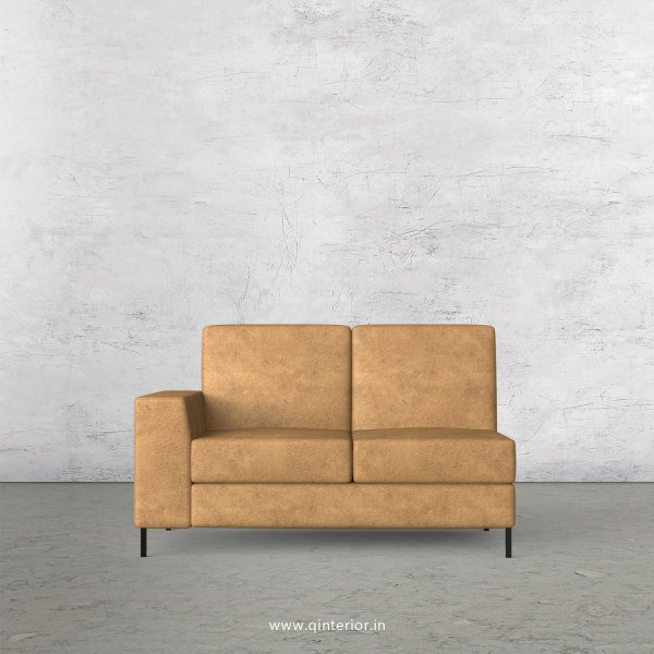 Viva 2 Seater Modular Sofa in Fab Leather Fabric - MSFA002 FL02