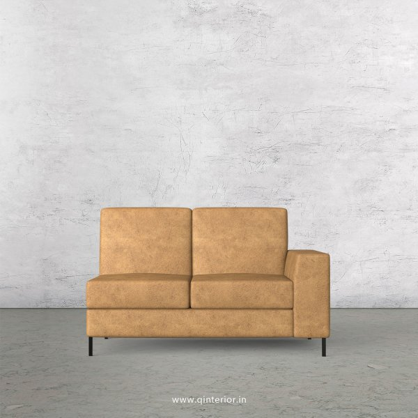 Viva 2 Seater Modular Sofa in Fab Leather Fabric - MSFA006 FL02