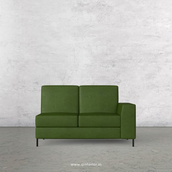 Viva 2 Seater Modular Sofa in Fab Leather Fabric - MSFA006 FL04