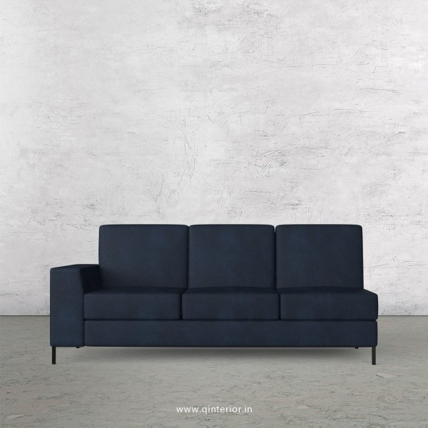 Viva 3 Seater Modular Sofa in Fab Leather Fabric - MSFA003 FL05
