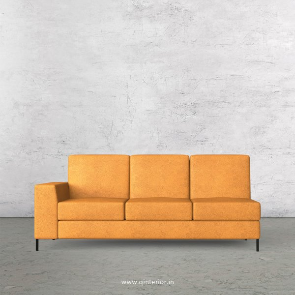 Viva 3 Seater Modular Sofa in Fab Leather Fabric - MSFA003 FL14