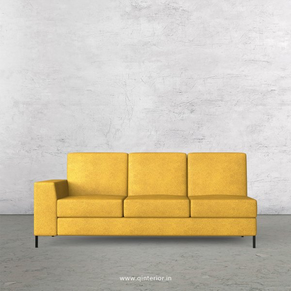 Viva 3 Seater Modular Sofa in Fab Leather Fabric - MSFA003 FL18