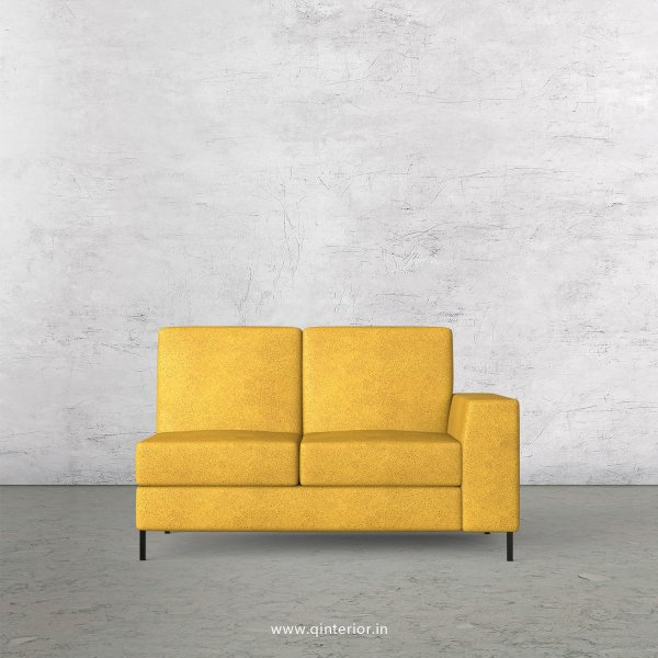 Viva 2 Seater Modular Sofa in Fab Leather Fabric - MSFA006 FL18