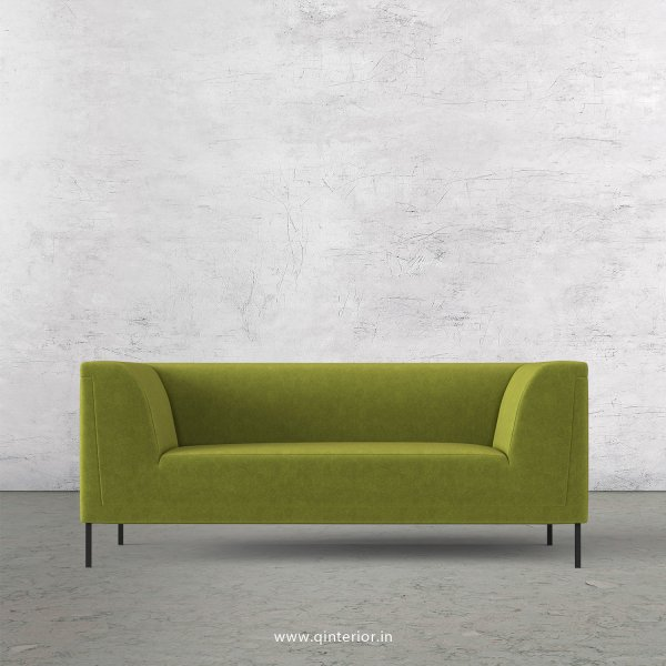 LUXURA 2 Seater Sofa in Velvet Fabric - SFA017 VL10